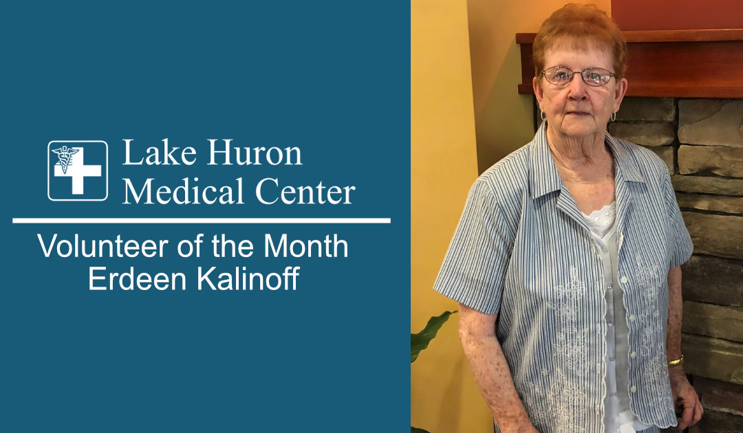 Join Lake Huron Medical Center in Honoring It's September Volunteer of the Month!