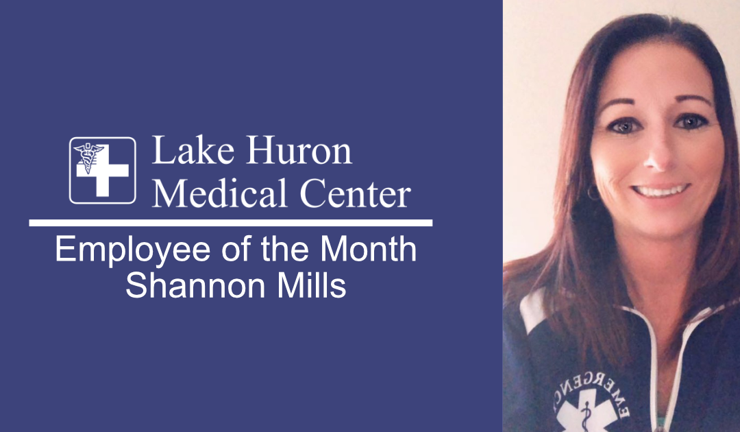 Join Lake Huron Medical Center in Honoring its October Employee of the Month!