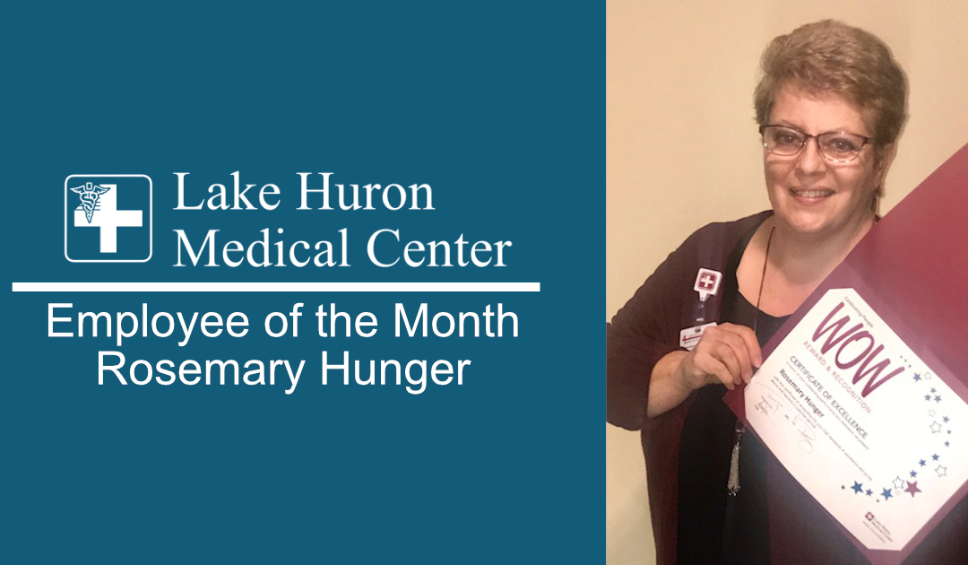 Join Lake Huron Medical Center in Honoring its November Employee of the Month!