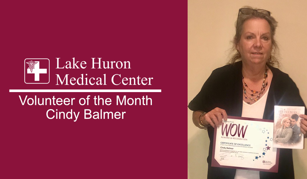 Join Lake Huron Medical Center in Honoring its November Volunteer of the Month!