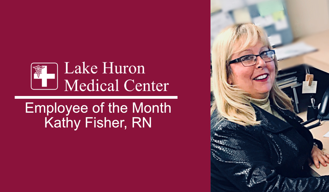 Join Lake Huron Medical Center in Honoring December Employee of the Month!