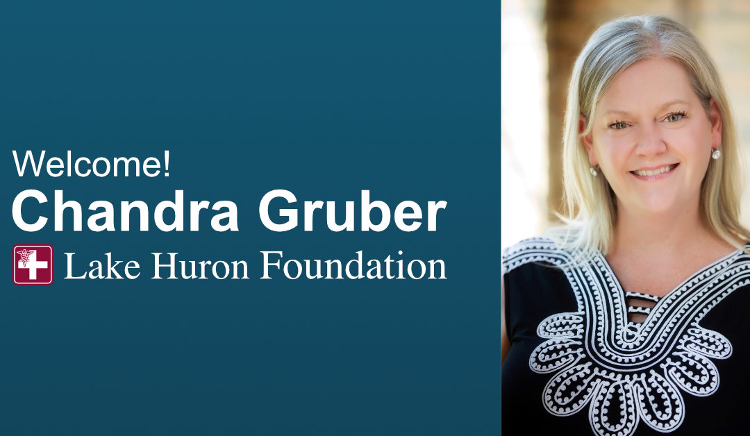 Lake Huron Foundation Welcomes New Director