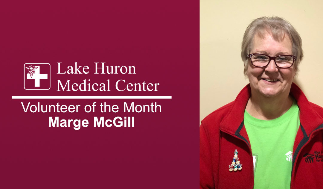 Join Lake Huron Medical Center in Honoring January Volunteer of the Month!