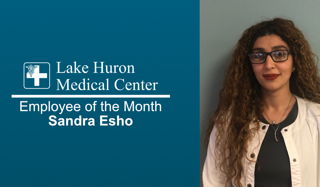 Lake Huron Medical Center Honors February Employee of the Month