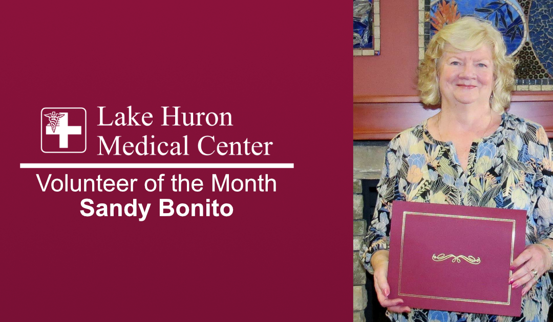 Lake Huron Medical Center Honors February Volunteer of the Month