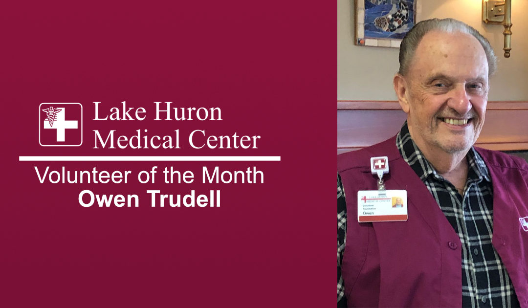 Lake Huron Medical Center Honors March 2019 Volunteer of the Month