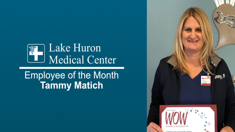 Lake Huron Medical Center Honors April Employee of the Month