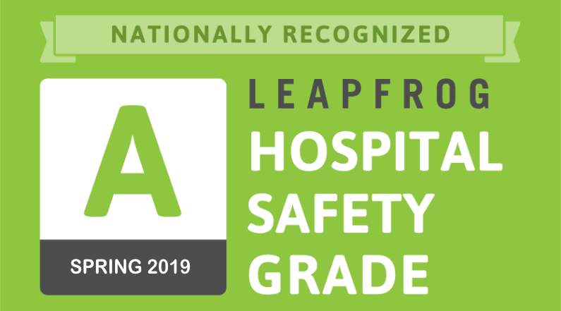 Lake Huron Medical Center Receives an 'A' for Patient Safety in Spring 2019 Leapfrog Hospital Safety Grade