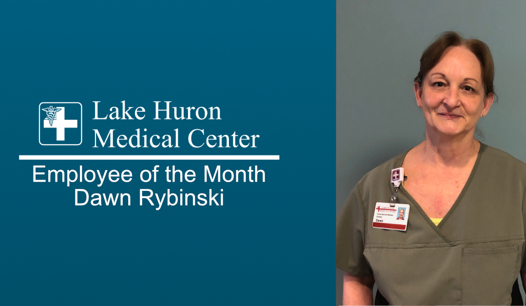 Lake Huron Medical Center Honors Employee of the Month