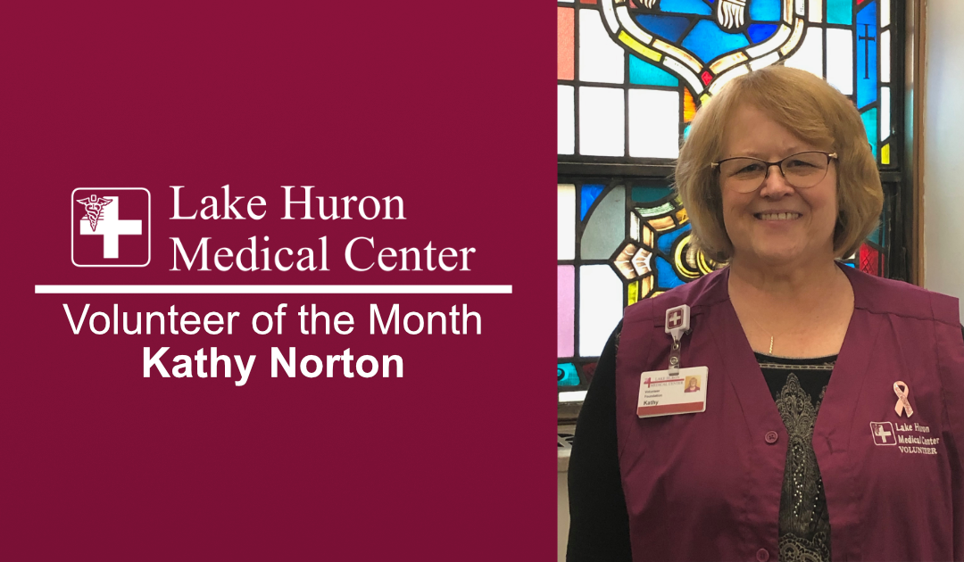 Lake Huron Medical Center Honors Volunteer of the Month