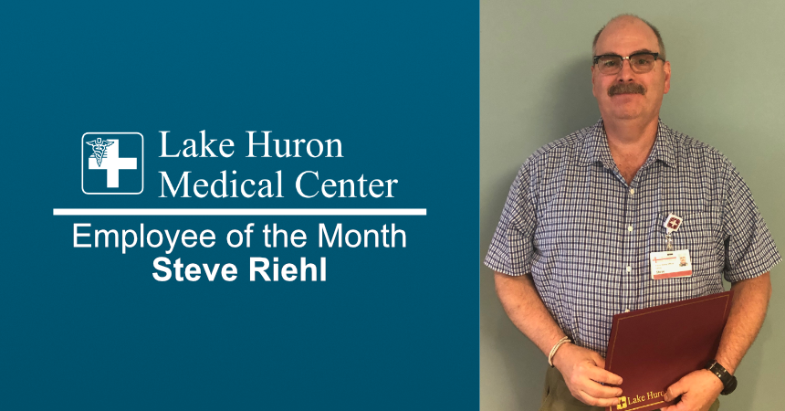 Lake Huron Medical Center Honors June 2019 Employee of the Month
