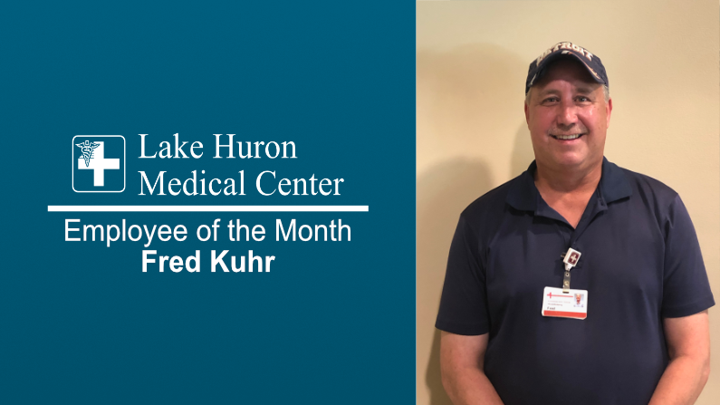Lake Huron Medical Center Honors August 2019 Employee of the Month