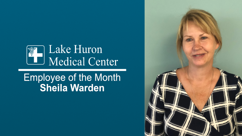 Lake Huron Medical Center Honors September 2019 Employee of the Month
