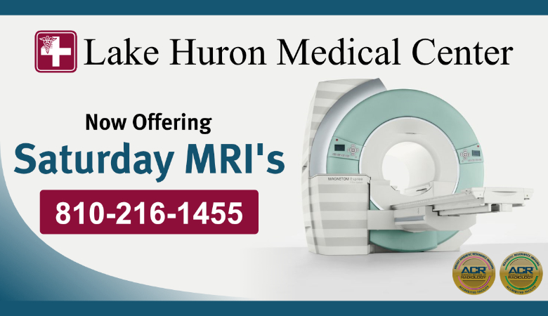 Now Offering MRI's on Saturday
