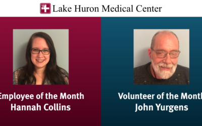 Employee and Volunteer of the Month February 2020