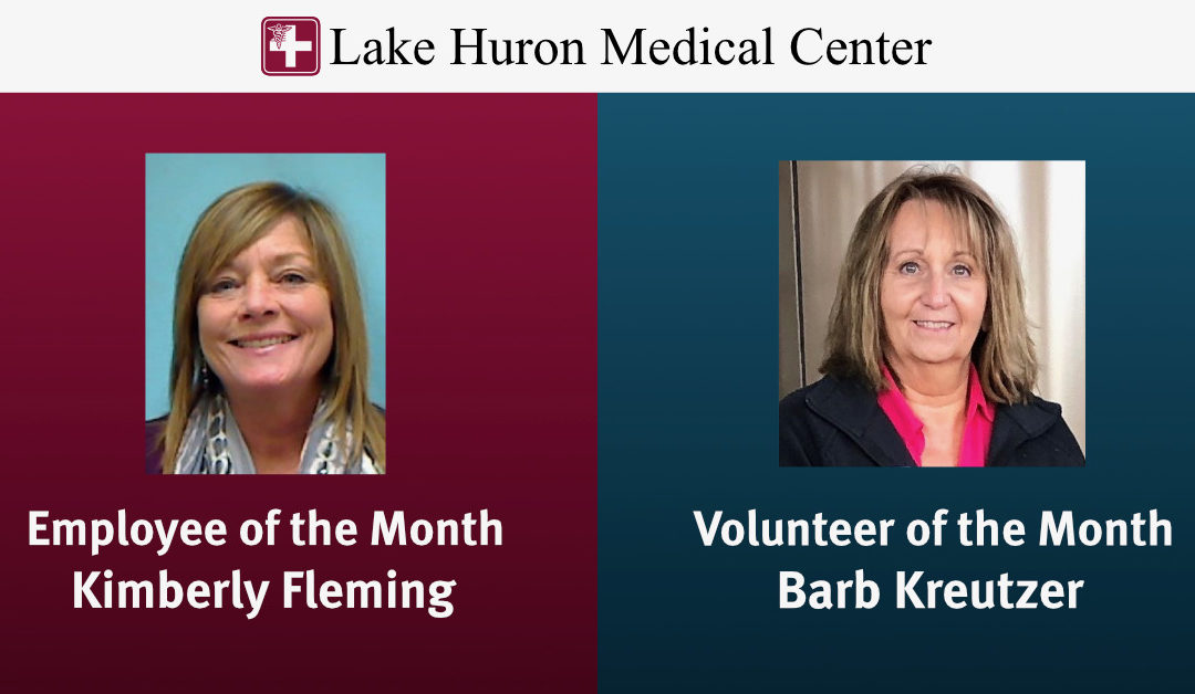 March 2020 Employee and Volunteer of the Month