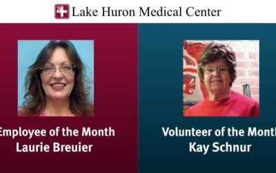 April 2020 Employee & Volunteer of the Month