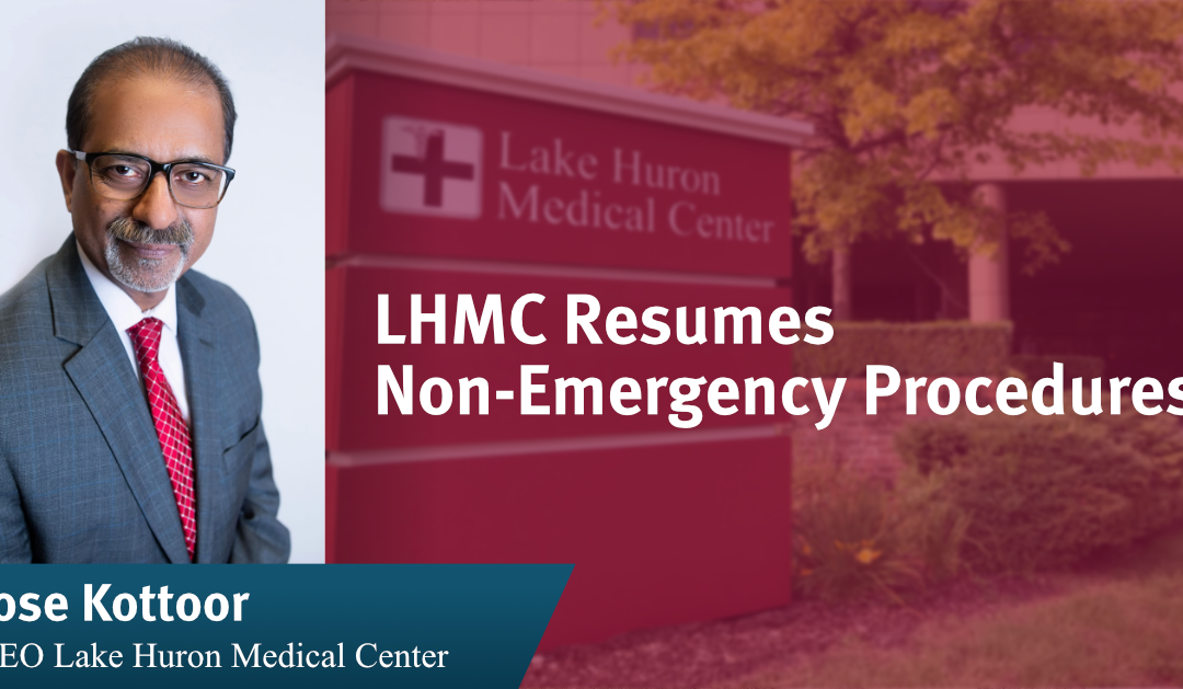 LHMC Resumes Non-Emergency Procedures