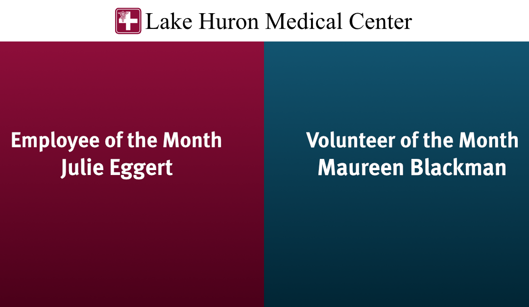 July 2020 Employee/Volunteer of the Month