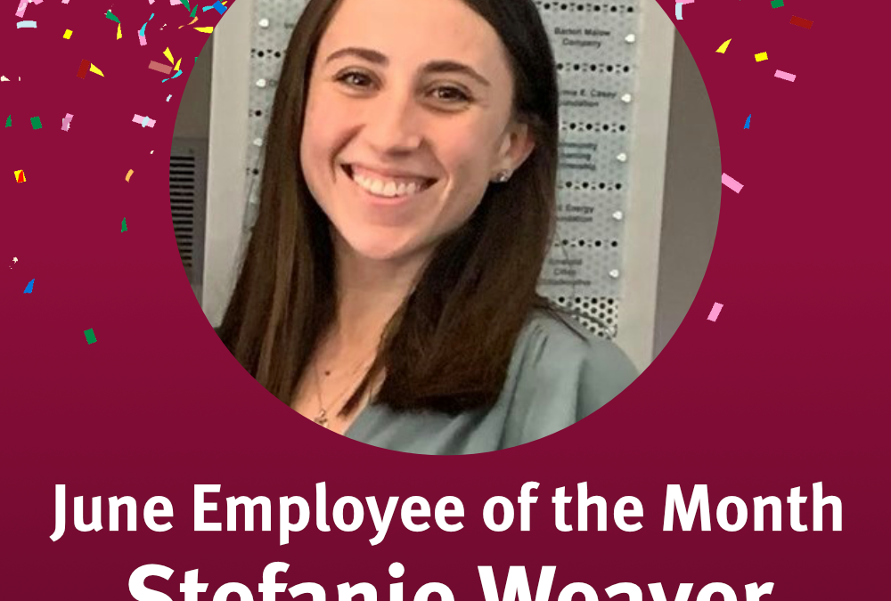 June 2021 Employee of the Month