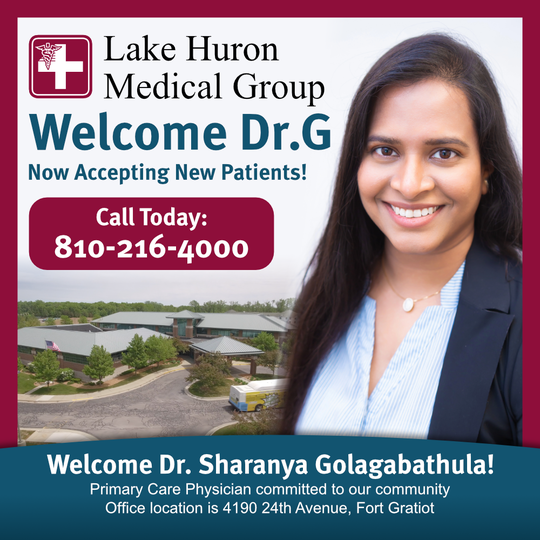 Welcome Dr. G!