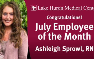 July Employee of the Month